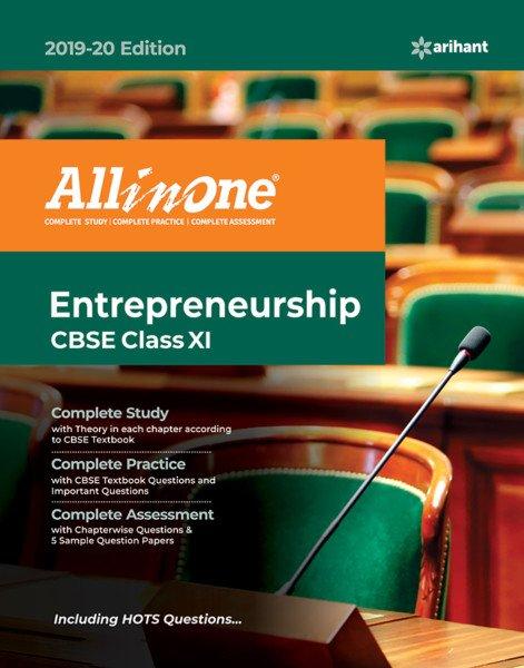 Entrepreneurship Class 11 Cbse Book